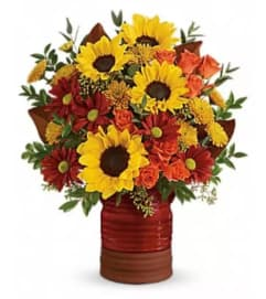 Rustic Heirloom Sunflower