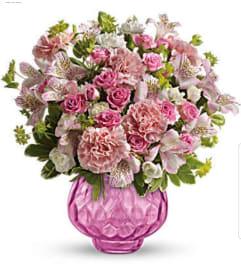 Rosy Pink Garden