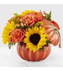 Fall Harvest Traditions Pumpkin