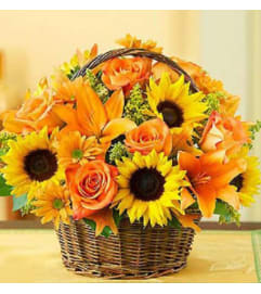 Fall Sunshine Basket