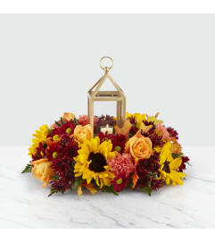 Giving Thanks Lantern FTD Bouquet
