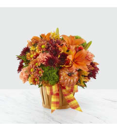 Autumn Celebration Basket FTD Bouquet