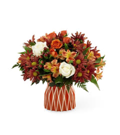 The FTD Shades of Autumn Bouquet