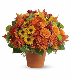 Sweet Autumn Pot