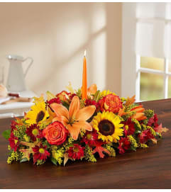 Europe Fall Centerpiece
