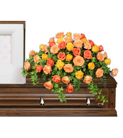 BEAUTIFUL ROSE BENEDICTION Funeral Flowers - FSN