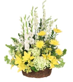 Prayerful Whisper Funeral Flowers- FSN