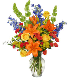 AWE-INSPIRING AUTUMN Floral Arrangement - FSN