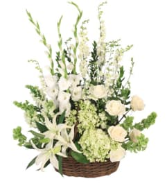 Peaceful Basket Arrangement FSN