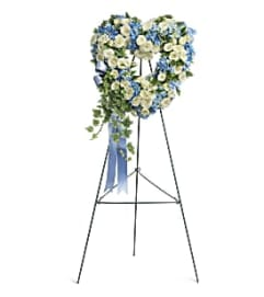 Tender Remembrance Wreath Standing Spray