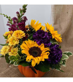 Pumpkin Posies Bouquet