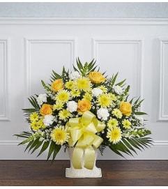 Floor Basket-Yellow Mix