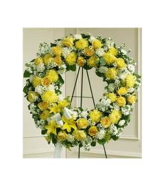 Wreath-Yellow Mix