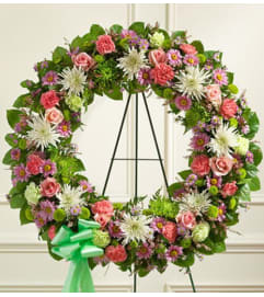 Wreath-Pastel Mix