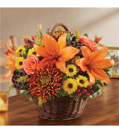 Basket Arrangement-Autumn