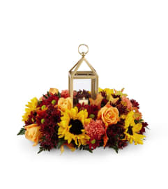 Giving Thanks Lantern™Centerpiece by FTD Flowers