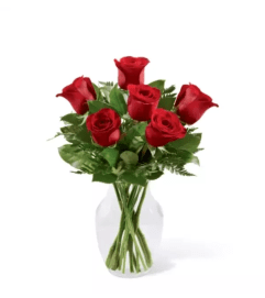 The FTD® Simply Enchanting™ Rose Arrangement