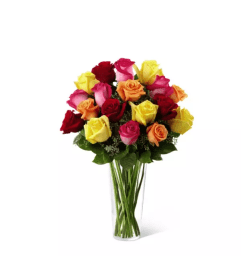 The Bright Spark™ Rose Arrangement by FTD®