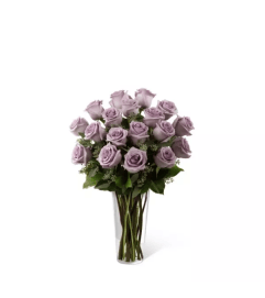 The Lavender Rose Bouquet by FTD