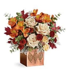 SHIMMERING LEAVES BOUQUET