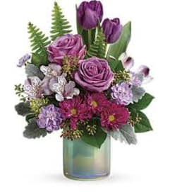 TF GLASS GARDEN BOUQUET