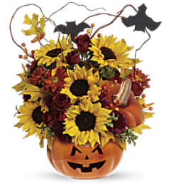 Teleflora's Trick and Treat Bouquet