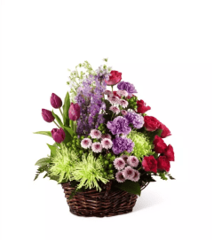 The Truly Loved™ Basket by FTD Flowers