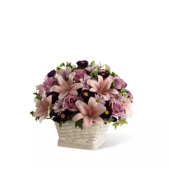 The Loving Sympathy™ Basket Arrangement