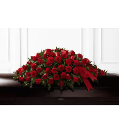 Dearly Departed™ Casket Spray by FTD Flowers