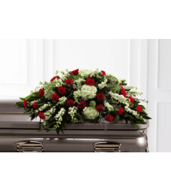 Sincerity™ Casket Spray by FTD Flowers