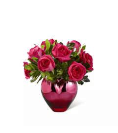 Hold Me in Your Heart™ Rose Arrangement by FTD