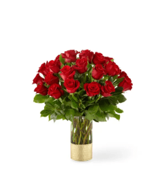 Gorgeous™ Red Rose Bouquet by FTD Flowers