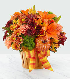 FTD's Autumn Celebration Basket Arrangement