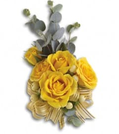 Sunsweet Wrist Corsage *PLEASE CALL TO ORDER*