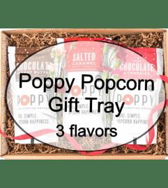Poppy Popcorn Tray