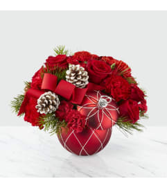 Making Spirits Bright Bouquet FTD