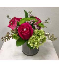 Roses in Tin