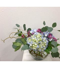 Hydrangea and Willow Bowl