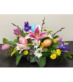 Easter Celebration Centerpiece