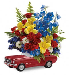The '65 Ford Mustang Bouquet