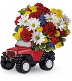 Jeep Wrangler Blazing Trails Bouquet DX