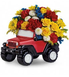 Jeep King Of The Road by Teleflora