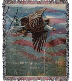 MAY FREEDOM FOREVER FLY AFGHAN