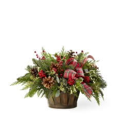 The Holiday Homecomings Basket by FTD Flowers