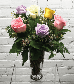 Mixed Roses-1/2 Dozen