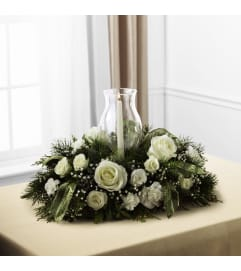 Glowing Elegance Centerpiece Bouq