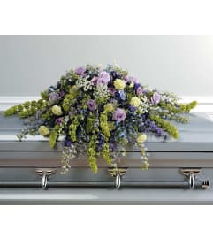 Wildflowers Casket Spay