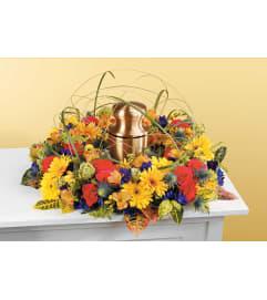 Sympathy Wreath  for  Urn