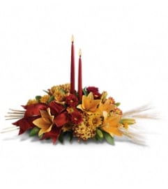 Graceful Thanksgiving Centerpiece