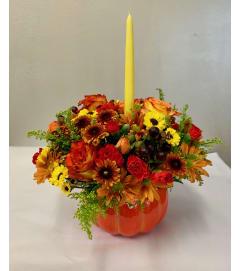 Pumpkin Spice Centerpiece